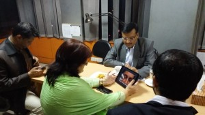 Meeting to launch new product for patients